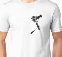 Vintage Movie Camera Unisex T-Shirt