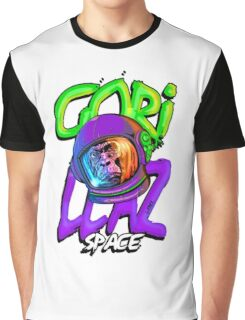 GORILLAZ SPACE Graphic T-Shirt