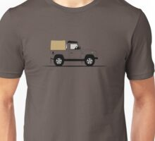 A Graphical Interpretation of the Defender 90 Pick Up Unisex T-Shirt