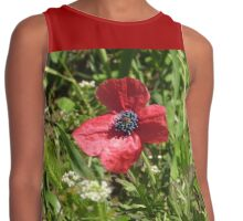 I'm just a lonely Poppy among the weeds!  'Arilka', Mount Pleasant! Contrast Tank