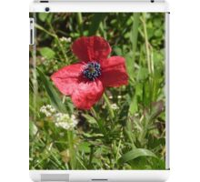 I'm just a lonely Poppy among the weeds!  'Arilka', Mount Pleasant! iPad Case/Skin