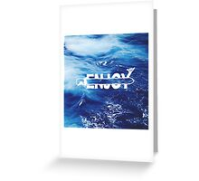 Enjoy Surf Type Greeting Card