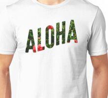 ALOHA Lettering Unisex T-Shirt