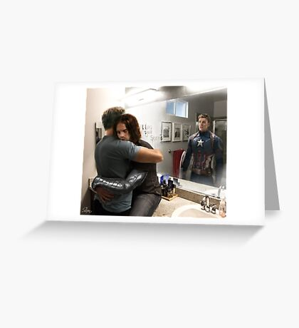 What you see in the mirror Greeting Card