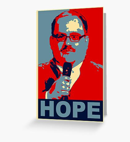 KEN BONE - OUR ONLY HOPE Greeting Card
