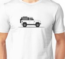A Graphical Interpretation of the Defender 90 Station Wagon Startech Unisex T-Shirt