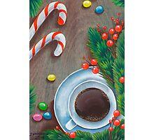 Christmas coffee Photographic Print
