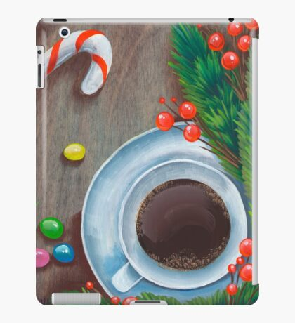 Christmas coffee iPad Case/Skin