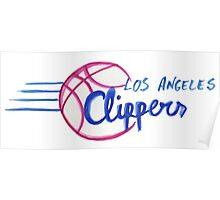 Los Angeles Clippers design Poster
