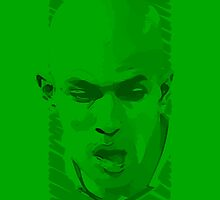 World Cup Edition - Sofiane Feghouli / Algeria by Milan Vuckovic