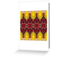 creative photography flowers botanical Greeting Card