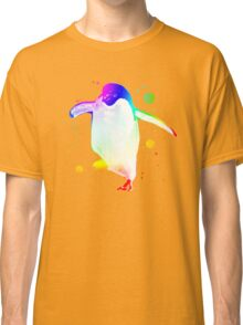 Psychedelic Penguin Classic T-Shirt