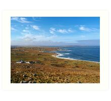 Donegal, Ireland Coast Art Print