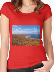 Donegal, Ireland Coast Women's Fitted Scoop T-Shirt