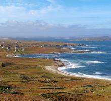 Donegal, Ireland Coast Sticker