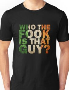 mcgregor ; who the fock is that guy? Unisex T-Shirt