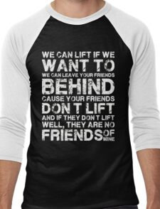 Gym Hot 2016 - Lift Friends! Men's Baseball ¾ T-Shirt