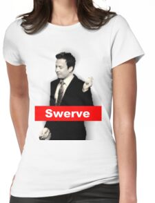 Jimmy Swerve Womens Fitted T-Shirt