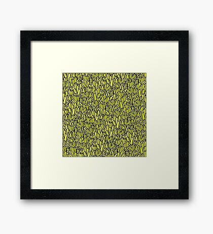 Large Fries  Framed Print