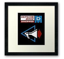 Depeche Mode : Stripped - Logo Framed Print