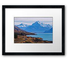 Road to Mount Cook Framed Print