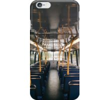 Empty Bus iPhone Case/Skin