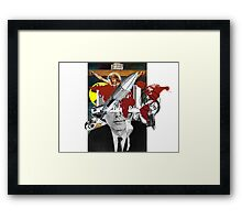 Kennedy's Crisis Framed Print