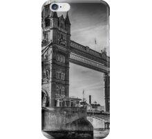 Tower Bridge Black and White  iPhone Case/Skin