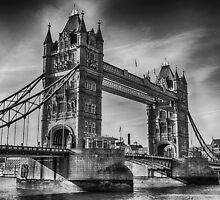 Tower Bridge Black and White  by Chris Thaxter