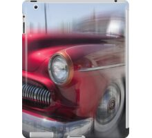 Northern California Crimson Classic Caddy iPad Case/Skin