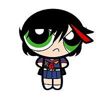 Ryukup: PowerPuff Girls X Kill La Kill by ViralDrone