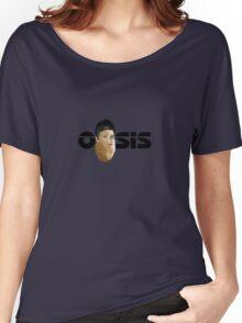 Oasis Noel Gallagher Potato Logo Women's Relaxed Fit T-Shirt