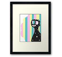 Rainbow Smile Framed Print