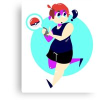 Pokemon GO Girl Canvas Print
