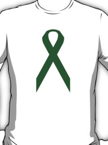 Liver Cancer Awareness ribbon T-Shirt