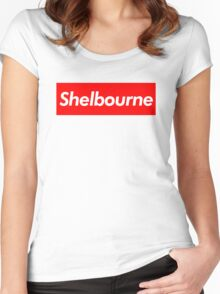SHELBOURNE  Women's Fitted Scoop T-Shirt
