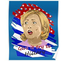 Election - Hillary Poster