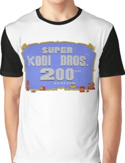 SUPER KODI BROS OFFICIAL MARIO 2 TWO HUNDRED SALE EDITION Graphic T-Shirt