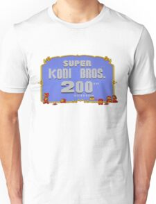 SUPER KODI BROS OFFICIAL MARIO 2 TWO HUNDRED SALE EDITION Unisex T-Shirt
