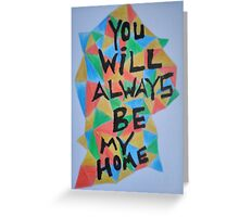 A Little Deep-Meaning Promise Greeting Card