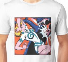 Comic Girl - 6 Pop Unisex T-Shirt
