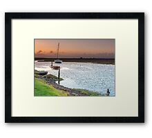 Stacking Stones Framed Print