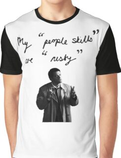 "My ""people skills"" are ""rusty"" Graphic T-Shirt"