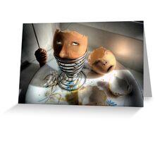 Eggsecution XIV - The Spoon Cometh Greeting Card