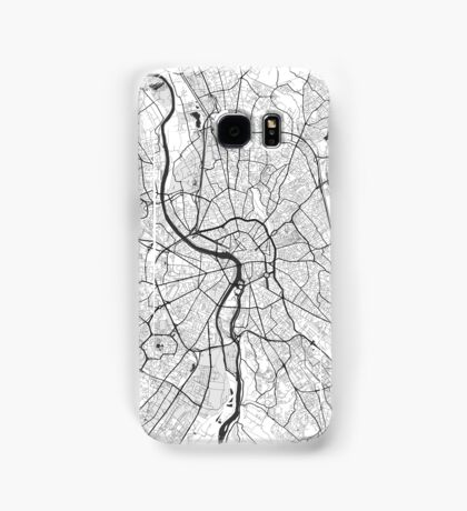 Toulouse Map Gray Samsung Galaxy Case/Skin
