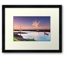 Turning Tide Framed Print