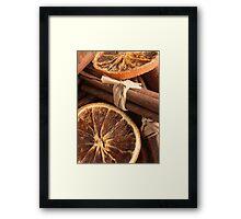 Slice & Spice Framed Print