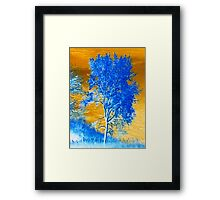 X-SCAPES (Hill Side) Framed Print