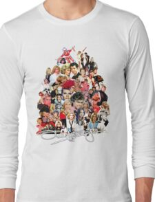 Olivia Newton-John  - Evolution Long Sleeve T-Shirt