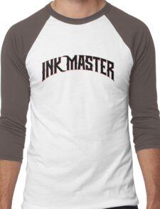 Ink Master logo - black- Spike - tv show - tattoo Men's Baseball ¾ T-Shirt